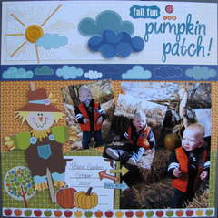 Fall Fun @ the Pumpkin Patch