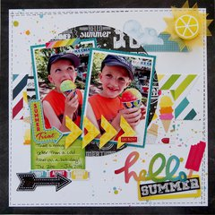 Hello Summer  **My Creative Scrapbook**
