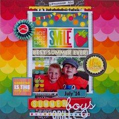 Summer Boys  **My Creative Scrapbook**