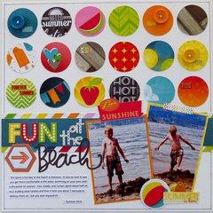 Fun at the Beach  **My Creative Scrapbook**