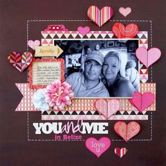 You and Me in Belize  **My Creative Scrapbook**