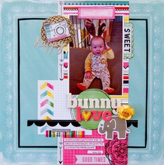 Bunny Love  **My Creative Scrapbook**