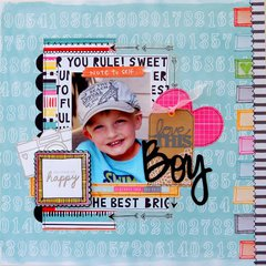Love This Boy  **My Creative Scrapbook**