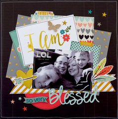 I Am So Very Blessed  **My Creative Scrapbook**