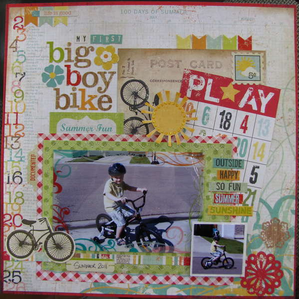 My First Big Boy Bike