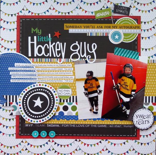 My Little Hockey Guy