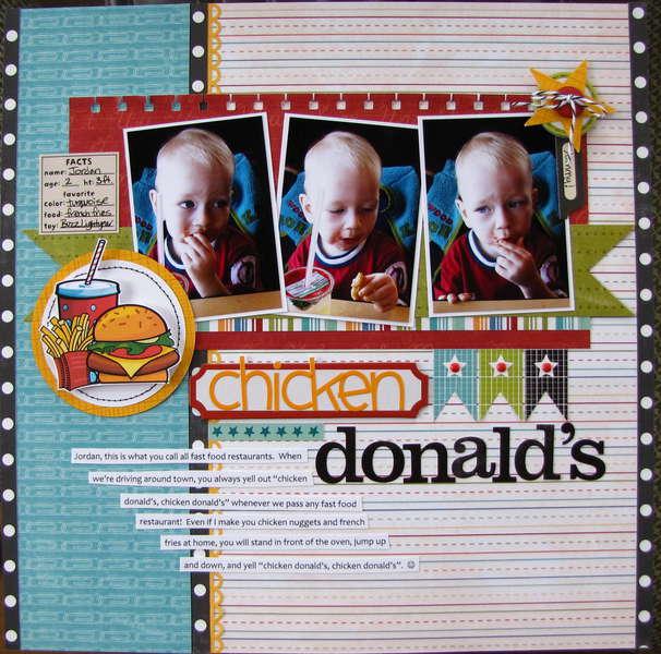 Chicken Donald's