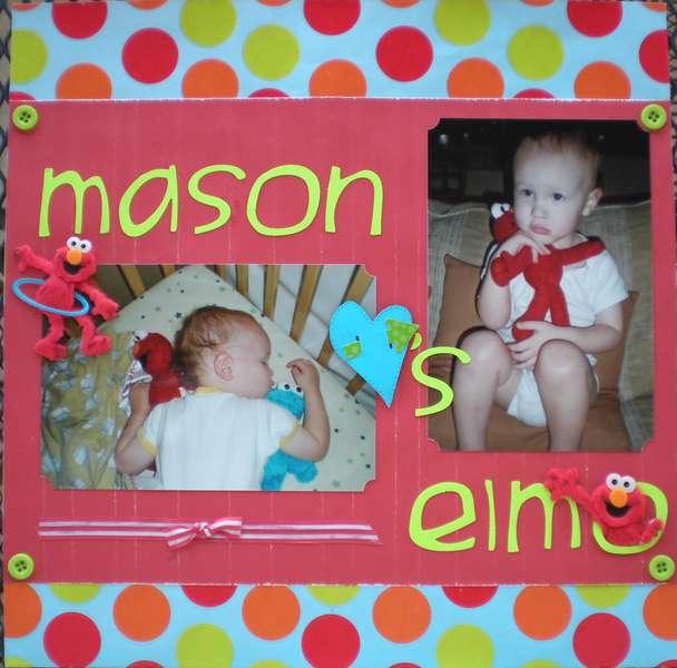 Mason Heart's (Loves) Elmo