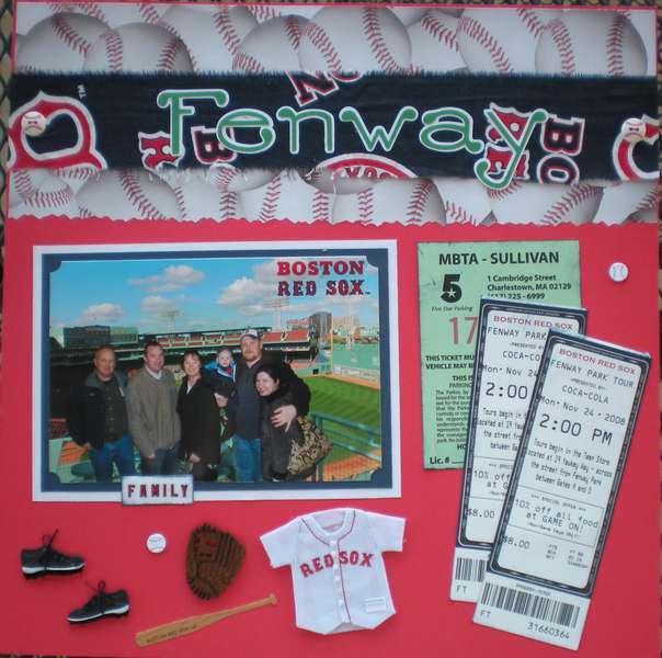 Fenway Park Tour 1