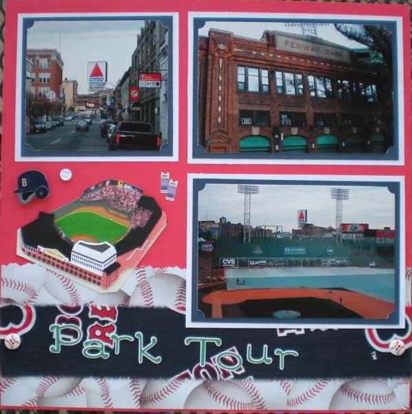 Fenway Park Tour 2
