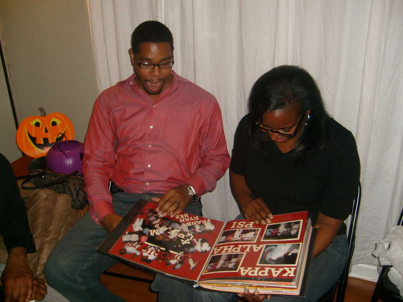 Kappa Alpha Psi scrapbook pages