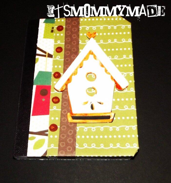 Bird House Mini Journal