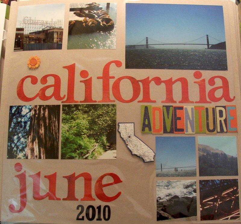CA trip 2010 album title page