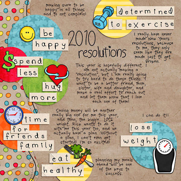 2010 Resolutions