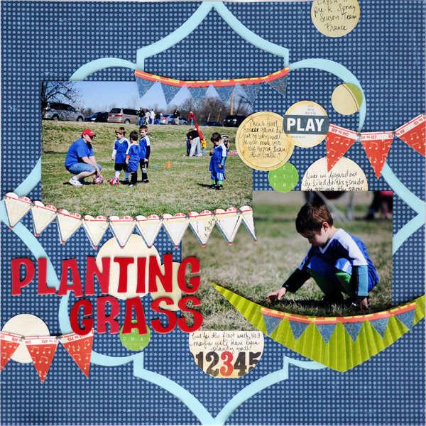 plantin grass