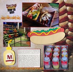 Universal Orlando Resort - Hot Dog Hall of Fame
