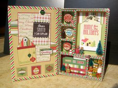 Configurations Mini-Book #6 (Retro Christmas) - Inside