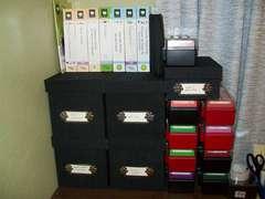 Cricut and Sizzix storage