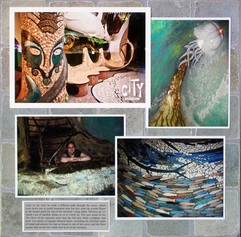 St. Louis 2013 - City Museum - Caves