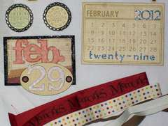 Leap Year Kit for February Kit Swap - Embellishments 2