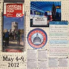 Washington DC 2012 - Page 1 - Title Page