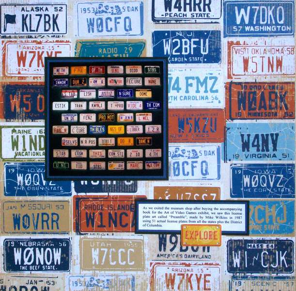Washington DC 2012 - Page 24 - License Plate Preamble