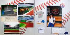 Washington DC 2012 - Pages 30-31 - Ballpark Tour: Dugout