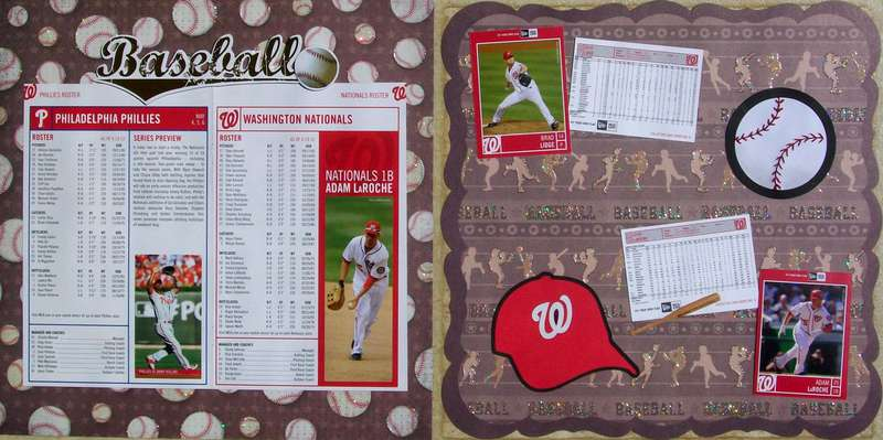 Washington DC 2012 - Pages 40-41 - Nationals/Phillies Baseball Game (pages 2-3)
