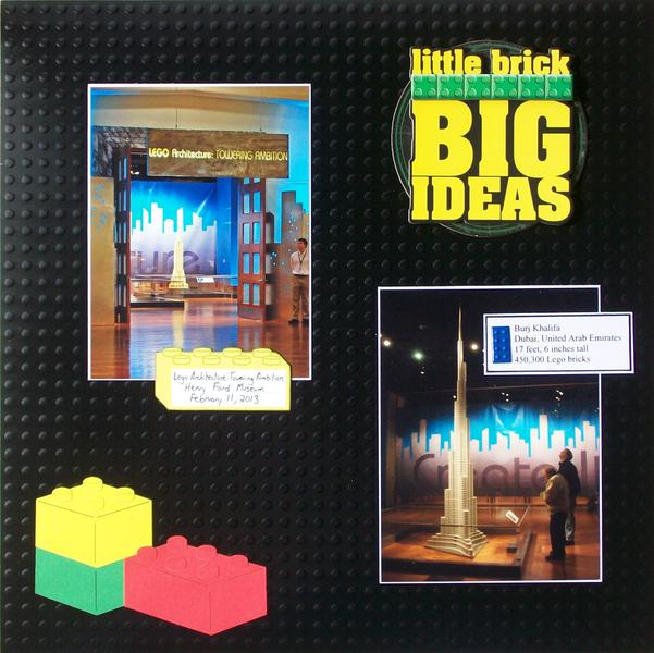 Lego Architecture Exhibit, page 1