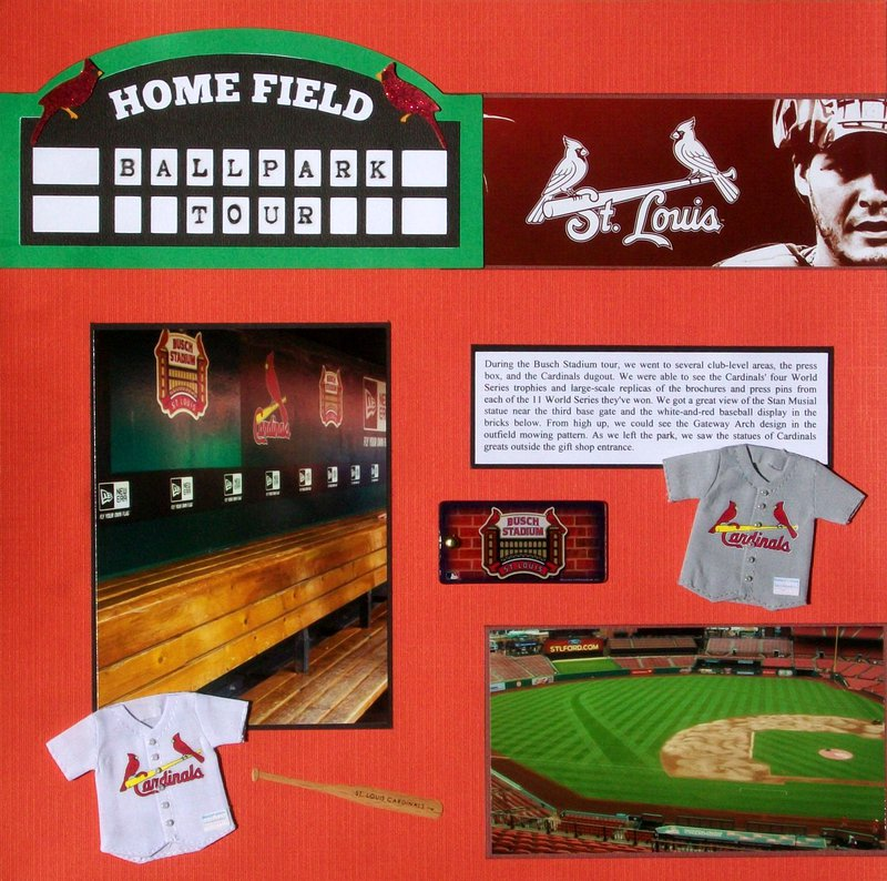 St. Louis 2013 - Busch Stadium Tour, page 1