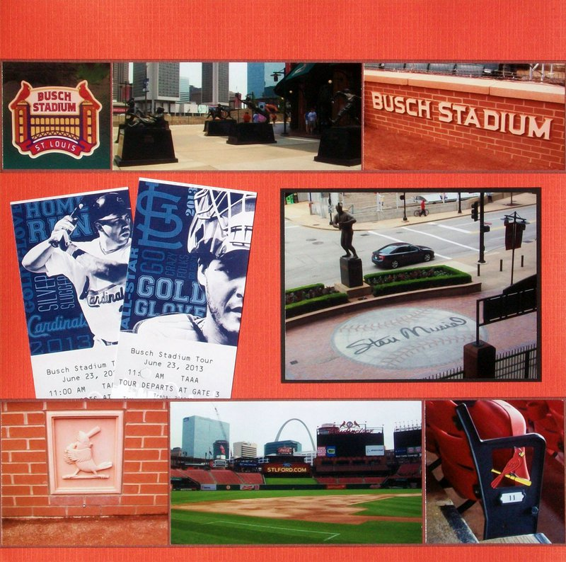 St. Louis 2013 - Busch Stadium Tour, page 2