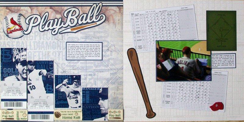 St. Louis 2013 - Baseball Game