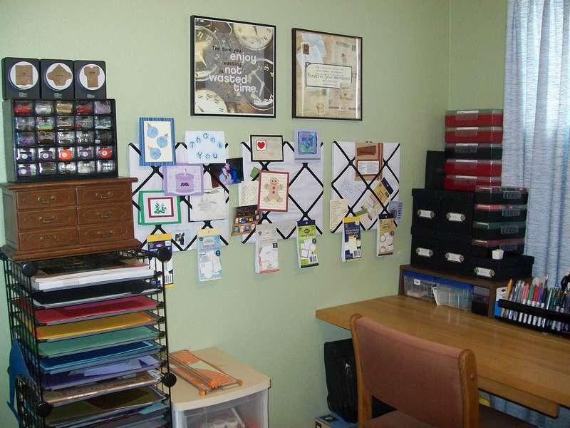 Scraproom (January 2011) - Work area