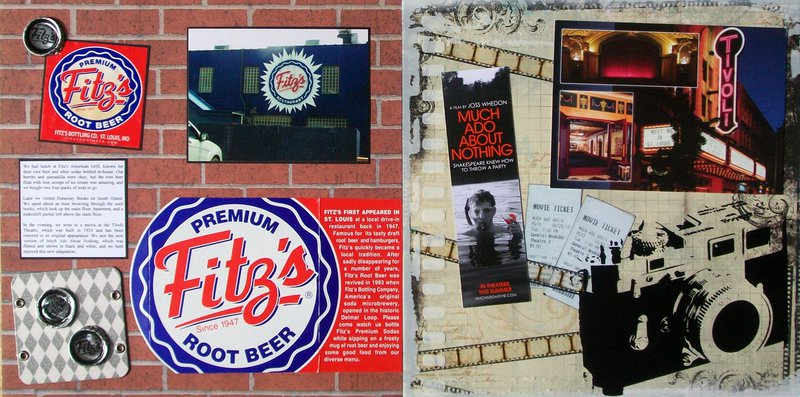 St. Louis 2013 - Tuesday afternoon (Fitz's and Tivoli Theatre)