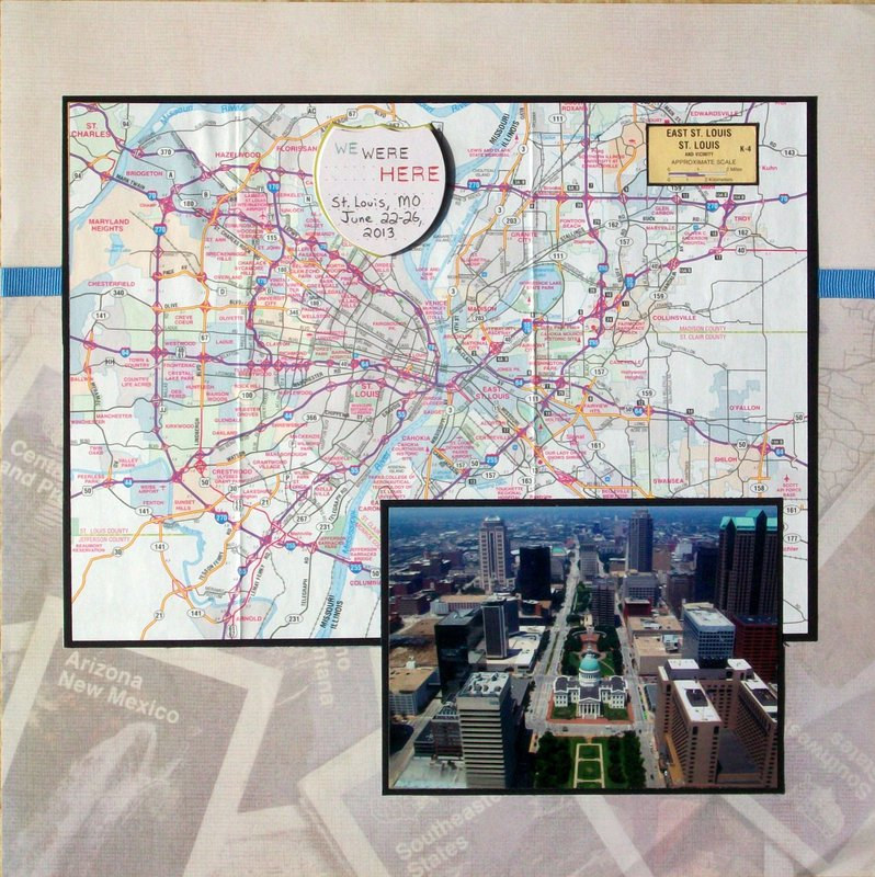 St. Louis 2013 - Map