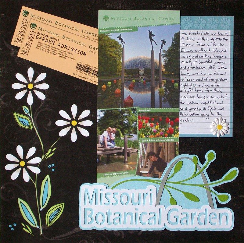 St. Louis 2013 - Botanical Garden Intro, page 1