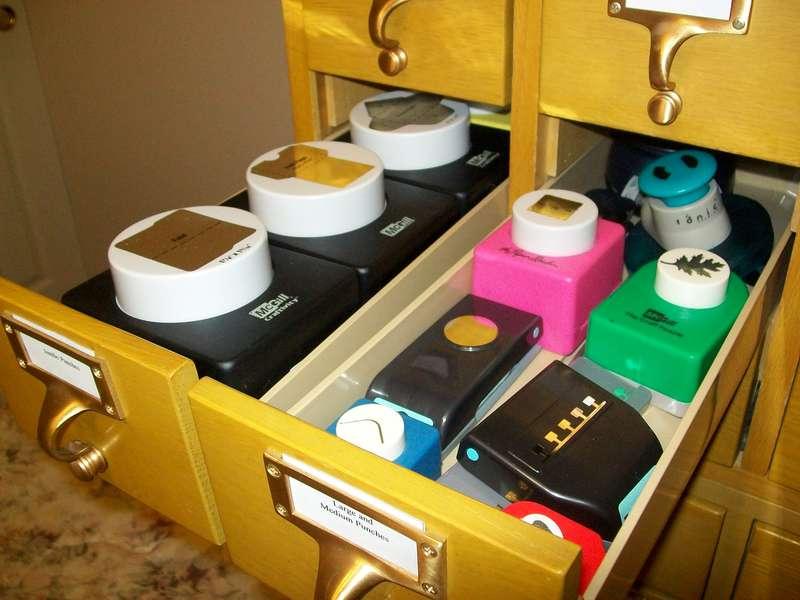 Scraproom (February 2012) - Card catalog drawers 2