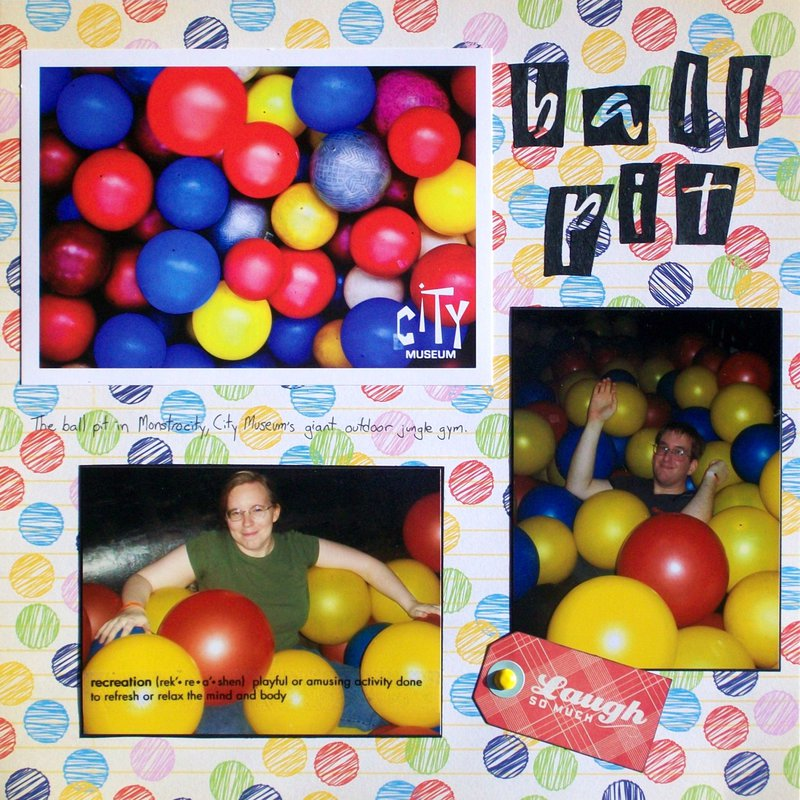 St. Louis 2013 - City Museum - Ball Pit