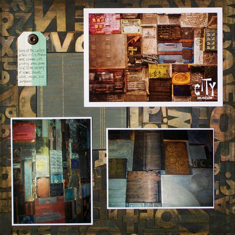 St. Louis 2013 - City Museum - Letterpress