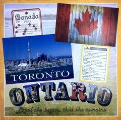 Toronto album title page