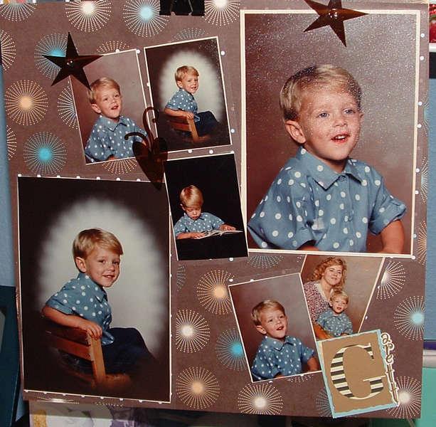 Garett at age 4