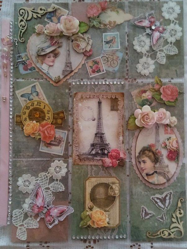 Paris for September Pocket Pal swap on other site.