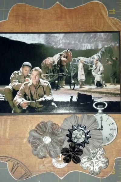 Steampunk Warhorse Chip Board Album