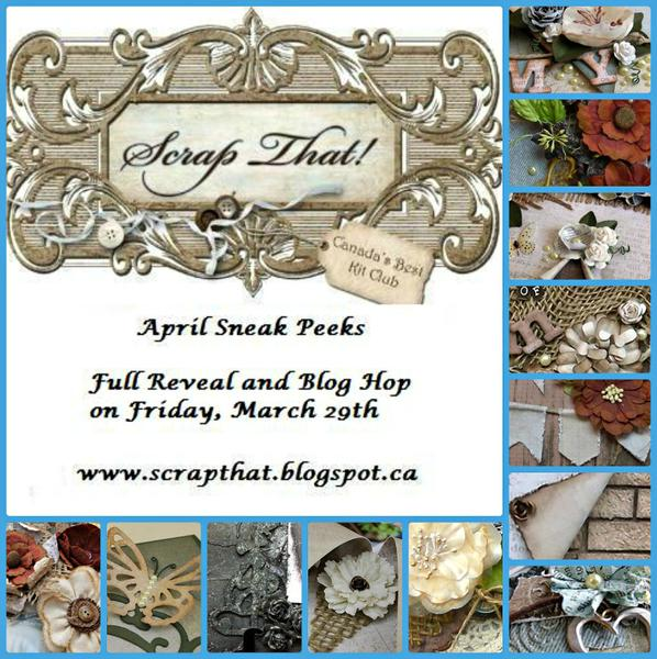 "Scrap That! April Kit ""Within Nature"" Sneak Peeks"
