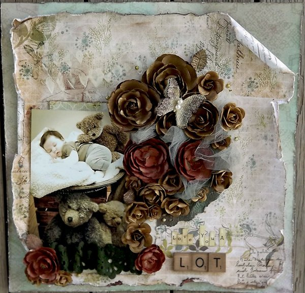 ***ScrapThat July kit***Laura Gilhuly - Love you a lot