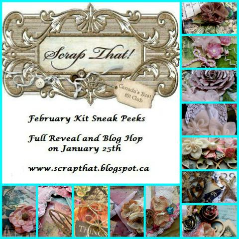 "ScrapThat! February ""With Love"" ~ Sneak Peeks"