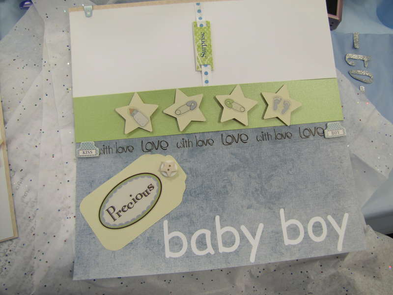 for my soon to be great nephew