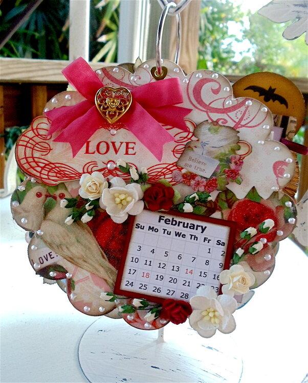 2013 Calendar February