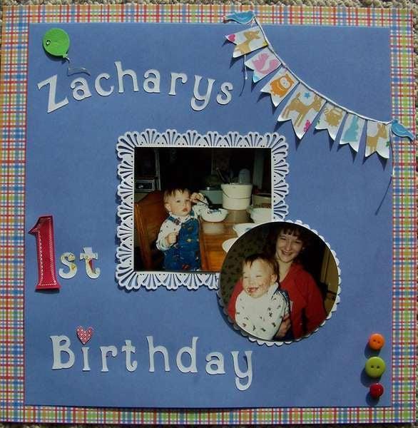 Zachary's Birthday