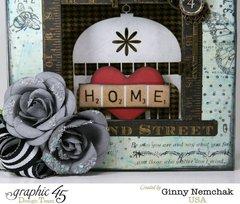 Home Sweet Home Mixed Media Box